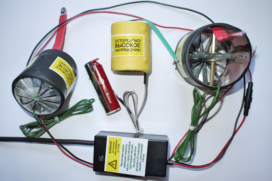 Ионизатор для двигателя автомобиля своими руками